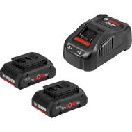 Зарядное устройство с АКБ BOSCH GAL 1880 CV Professional + 2 акк. ProCore 18V 4.0Ah (1.600.A01.6GF)