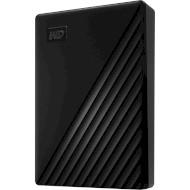 Портативный жёсткий диск WD My Passport 4TB USB3.2 Black (WDBPKJ0040BBK-WESN)