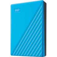 Портативный жёсткий диск WD My Passport 4TB USB3.2 Blue (WDBPKJ0040BBL-WESN)