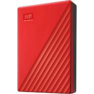 Портативный жёсткий диск WD My Passport 4TB USB3.2 Red (WDBPKJ0040BRD-WESN)