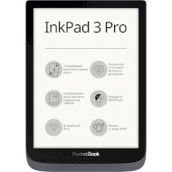 Электронная книга POCKETBOOK InkPad 3 Pro Metallic Gray (PB740-2-J-CIS)