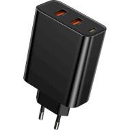Сетевое зарядное устройство BASEUS Speed PPS 60W Black