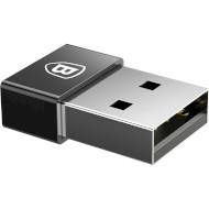 Адаптер BASEUS Exquisite USB/Type-C Black (CATJQ-A01)