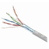 Кабель сетевой CABLEXPERT FTP Cat.5e 4x2x0.48 ССА Gray 305м (FPC-5004E-SOL)
