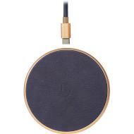 Беспроводное зарядное устройство DECODED FastPad Gold/Navy (D9WC2GDNY)