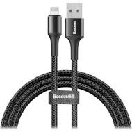 Кабель BASEUS Halo Data USB for Lightnin Black 1м (CALGH-B01)