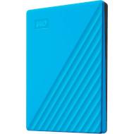 Портативный жёсткий диск WD My Passport 2TB USB3.2 Sky (WDBYVG0020BBL-WESN)