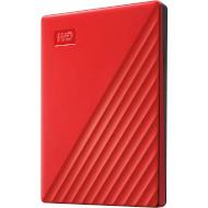 Портативный жёсткий диск WD My Passport 2TB USB3.2 Red (WDBYVG0020BRD-WESN)