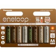 Аккумулятор PANASONIC Eneloop Tones Earth AA 1900мАч 8шт/уп (BK-3MCCE/8UE)