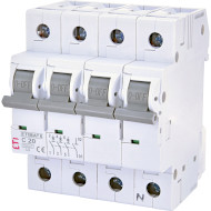 Выключатель автоматический ETI ETIMAT 6 3p+N C20 (2146517)