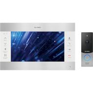 Комплект відеодомофона SLINEX SL-10M Silver/White + ML-20HD Silver/Black