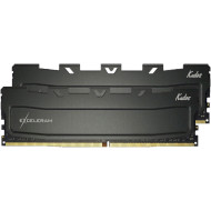Модуль памяти EXCELERAM Kudos Black DDR4 3200MHz 16GB Kit 2x8GB (EKBLACK4163216AD)