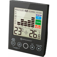 Термогигрометр BRESSER MA Digital Hygrometer with Mould Alert Black
