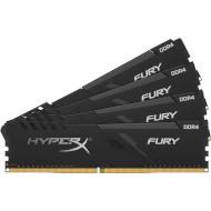 Модуль памяти HYPERX Fury Black DDR4 3000MHz 32GB Kit 4x8GB (HX430C15FB3K4/32)