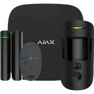 Комплект охоронної сигналізації AJAX StarterKit Cam Black (000016586)