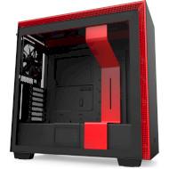 Корпус NZXT H710 Matte Black/Red (CA-H710B-BR)