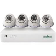 Комплект видеонаблюдения GREEN VISION GV-IP-K-S30/04 1080p (LP9419)