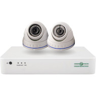 Комплект видеонаблюдения GREEN VISION GV-IP-K-S33/02 1080p (LP9535)