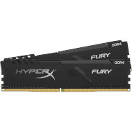 Модуль памяти HYPERX Fury Black DDR4 3200MHz 64GB Kit 2x32GB (HX432C16FB3K2/64)