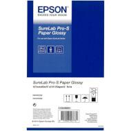 """Рулонная бумага для плоттеров EPSON SureLab Pro-S Paper Glossy (254 г/м²) 5"""" 127mm x 65m 2-pack (C13S450061BP)"""