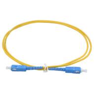 Оптический патч-корд COR-X SC-SC OS1 5м (OFPC-SC/UPC-SC/UPC-5)