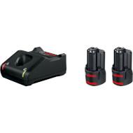 Зарядное устройство с АКБ BOSCH GAL 12V-40 Professional + 2 акк. GBA 12V 2.0Ah (1.600.A01.9R8)
