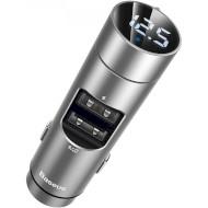 FM-трансмиттер BASEUS Energy Column Car Charger Silver
