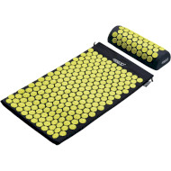 Коврик акупунктурный 4FIZJO аппликатор Кузнецова 4FJ0086 Black/Yellow