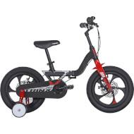 "Велосипед детский TRINX MG1 14"" Matt Black/Silver/Red"