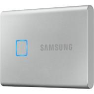 Портативный SSD SAMSUNG T7 Touch 1TB Silver (MU-PC1T0S/WW)
