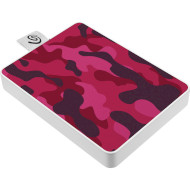 Портативный SSD SEAGATE One Touch 500GB Camo Red (STJE500405)
