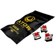 Набор переключателей HATOR Optical Switch Kailh Red