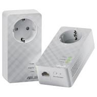 Адаптер Powerline ASUS PL-E52P Duo
