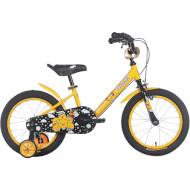 """Велосипед дитячий TRINX Smile TX-1610 16"""" Yellow/Gray/Yellow"""