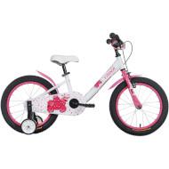 """Велосипед детский TRINX Smile TX-1610 16"""" White/Rosy/Red"""