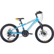 """Велосипед TRINX Junior 4.0 Blue/Yellow/White 20"""""""