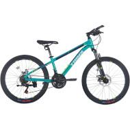 "Велосипед TRINX Majestic M114 Cyan/Blue/Green 24"""
