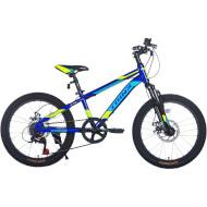"Велосипед TRINX Junior 1.0 Blue/Green/Blue 20"""
