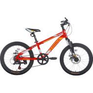 "Велосипед TRINX Junior 1.0 Red/White/Orange 20"""
