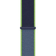 Ремешок APPLE Sport Loop 40mm Neon Lime (MXMP2ZM/A)