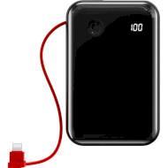 Повербанк BASEUS Mini S Digital Display w/Lightning Black 10000mAh (PPXF-B01)
