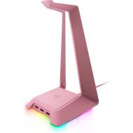 Подставка для наушников RAZER Base Station Chroma Quartz Pink
