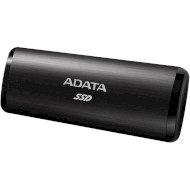Портативный SSD ADATA SE760 256GB Black (ASE760-256GU32G2-CBK)
