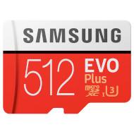 Карта памяти SAMSUNG microSDXC EVO Plus 512GB UHS-I Class 10 + SD-adapter (MB-MC512GA/EU)