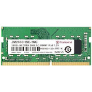 Модуль памяти TRANSCEND JetRam SO-DIMM DDR4 2666MHz 16GB (JM2666HSE-16G)