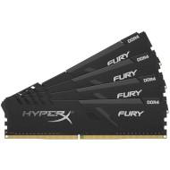 Модуль памяти HYPERX Fury Black DDR4 3000MHz 64GB Kit 4x16GB (HX430C15FB3K4/64)