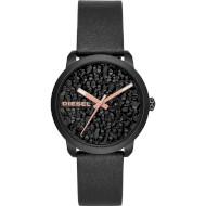 Часы DIESEL Flare Rocks Three Hand Black Leather (DZ5598)