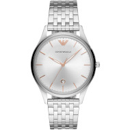 Часы EMPORIO ARMANI Adriano Three-Hand Stainless Steel (AR11285)