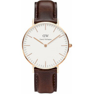 Часы DANIEL WELLINGTON Classic Bristol 36 Rose Gold (DW00100039)
