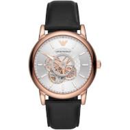 Часы EMPORIO ARMANI Luigi Silver Dial Leather Analogue (AR60013)